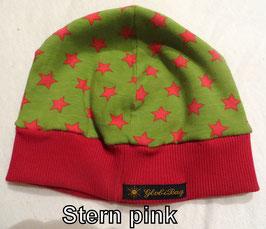 Mütze Stern pink