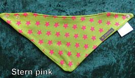 Halstuch Stern pink