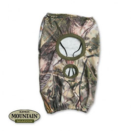 KING'S Camo Mountain Shadow Lightweight Royal 3/4 Face Mask