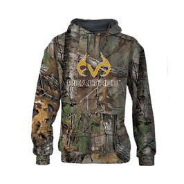 Realtree Men's Gold Antlers Realtree Xtra Camo Hoodie