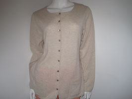 Cardigan beige Nice Connection Gr 42