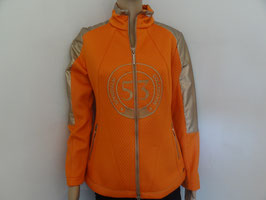 Fleecejacke orange von Sportalm Gr 44