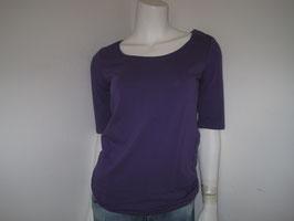 Shirt uni lila von Margittes