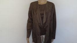 Jacke in Velours Leder Optik passend zum Shirt