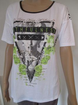Shirt von Sani Blu Gr. 40