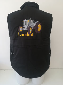 Body warmer brodé Landini