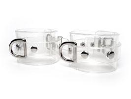 Transparente Handfesseln