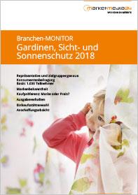 Marketmedia24: Branchen-Monitor Gardinen, Sicht- und Sonnenschutz 2018