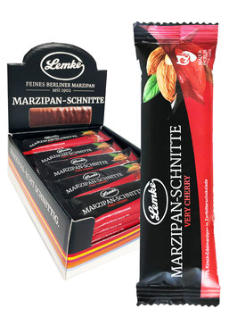 Marzipan-Schnitte Very Cherry im Tray