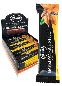 Marzipan-Schnitte Sunny Orange Tray