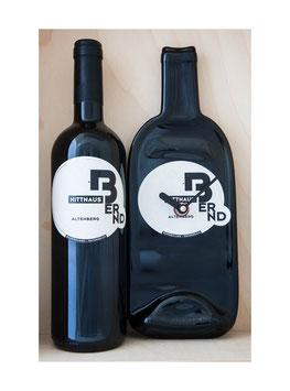 Weinflaschenuhr weingut bernd nittnaus altenberg exkl wein