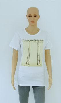 "T-Shirt Women ""The small steps"""