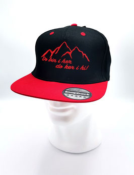 Original Headwear Snapback RED AUSTRIAN MOUNTAINS