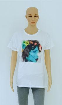 """T-Shirt Women """"The Beauty wears flowers"""""""