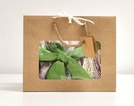 Geschenkverpackung mit Sichtfenster