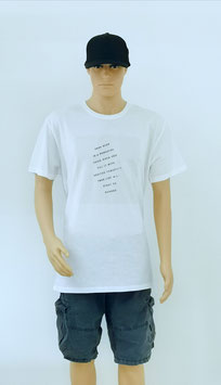 """T-Shirt Uni Sex """" Think about the Things"""""""
