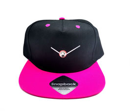 """""""baseCap Clock TM"""" The classic Snapback Collection Pink"""