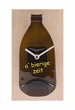 Bierflaschenuhr a bierige zeit...!