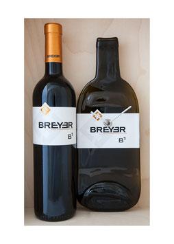Weinflaschenuhr weingut breyer bi cuvee exkl wein