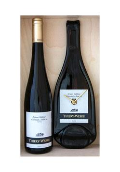 weinflaschenuhr thiery-weber kremstal dac reserve gebling exkl wein