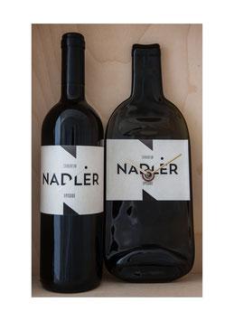 weinflaschenuhr Robert Nadler Carnuntum mit seiner cuvee episode 2013 exkl wein...!