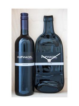 Weinflaschenuhr weingut hufnagel nyek exkl wein
