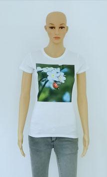 "T-Shirt Women ""The ladybug brings you luck"""
