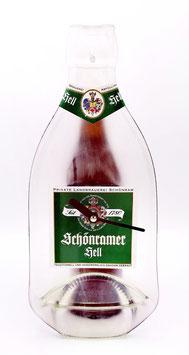 Schönramer hell beer bottle clock 1.0L