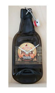 Bierflaschenuhr phönix vom Pinzgaubräu...!