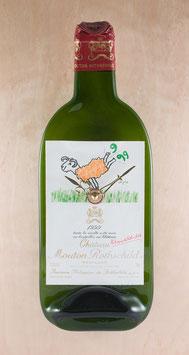Wein(zeit)en unikat chateau mouton rothschild pauillac 1999