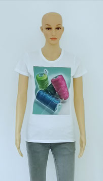 """T-Shirt Women Multi color """"My Sewing thread"""""""