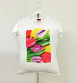 "T-Shirt Pillow TM ""The Flowers"" 60x50cm"