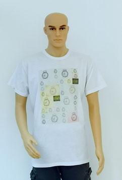 """T-Shirt Uni Sex """"Old School Clocks"""""""