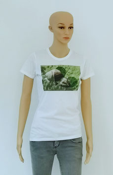 """T-Shirt Women Snails """"Slow Down for a while"""""""
