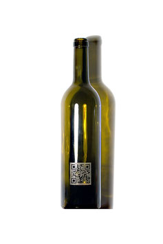 Qr code laser labels for Blind tastings ...! An Vektor EPS file is required ...!
