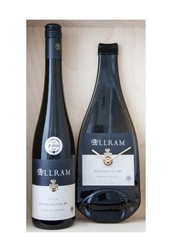 Weinflaschenuhr Weingut Allram Heiligenstein exkl Wein