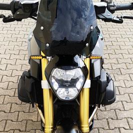 Lauflicht-LED-Blinker-Set für BMW R 1200/1250 R/RS - für TAI-Bikeparts-Kennzeichenhalter