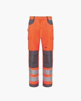 Zeckenschutz Warnhose Herren Safetyline ENISO-20471
