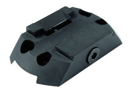 Montage H1 / H2 auf 11 mm Prismen (27712215)