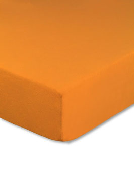 Kinderbetten-Spannbetttuch orange - 70x140 cm