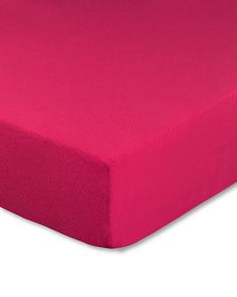 Kinderbetten-Spannbetttuch magenta (pink) - 70x140 cm