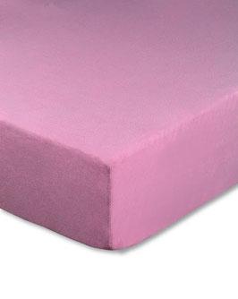 Kinderbetten-Spannbetttuch rosa - 70x140 cm