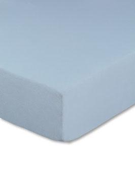 Kinderbetten-Spannbetttuch hellblau - 70x140 cm