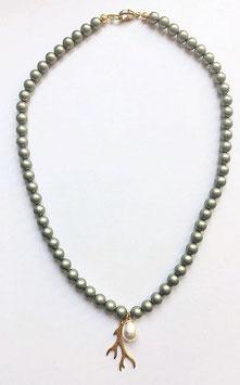 Kette *Hirschgold* 925er Silber vergoldet