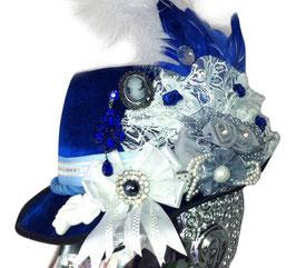 Unikat Trachtenhut royalblau