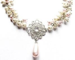 Perlenkette *Lace* mit Swarovski® Perlen