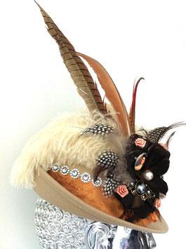 Unikat Trachtenhut beige