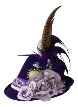 Unikat Trachtenhut lila