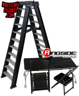 Ultimate Ladder & Table Playset schwarz