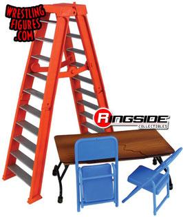 Ultimate Ladder & Table Playset orange